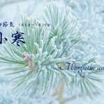 小寒(しょうかん) 2015年二十四節気七十二候
