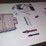 レディディオール製作実演 マイスターのお道具 @エスプリ ディオール展