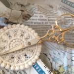 夫からのサプライズ・プレゼント  ドイツ ゾーリンゲン製 刺繍ハサミ