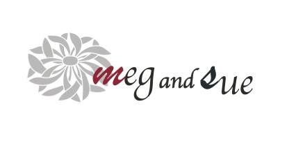 meg and sue ロゴ横長