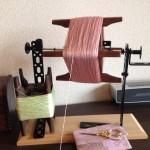 サクサン糸〜絹糸の輝き〜 手づくりの糸繰り機